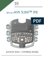X300 PE System Knobology