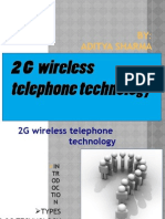 2G Wireless Telephone Technology