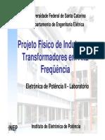 Projeto Físico de Magnéticos - Apresentação
