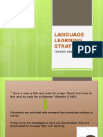 Language Learning Strategies Ppt