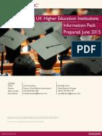 PTE Academic HEI Brochure June 2015