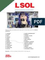 Actividad Sinónimos EL SOL 5 Abril - Mayo 2016