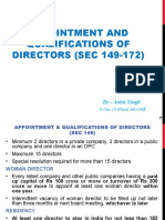 Appointment and Qualification Director