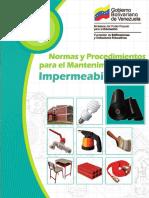 Manual de Mantenimiento Impermeabilizacion