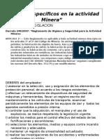 Dec 249-2007 Actividad Minera