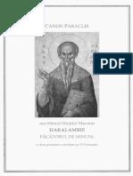 Paraclisul Sf. Haralambie