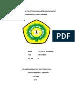 Laporan Praktikum Manajemen Marikultur