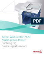 Xerox Colour Laser Multifunction Printer 7120