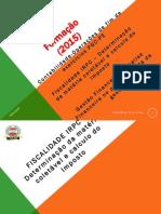 Formacao de Fiscalidade 2015 II