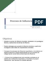 Procesos de Influencia Grupal