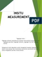 Insitu Measurement Fix