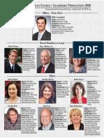 Leadership Nominee Slate