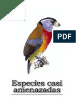 libro rojo aves de colombia