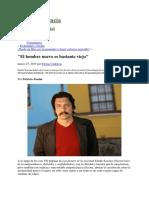 Scavino - El Hombre Nuevo Es Bastante Viejo, Entrevista de Zunini