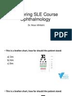 SLE (Ophthalmology) - Dr. Nizar Alhibshi