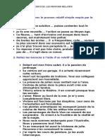 Exercices Les Pronoms Relatifs Copy
