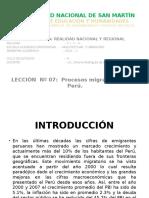 ARQUITECTURA LECCIÓN N° O7