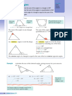 Angle in Polygons