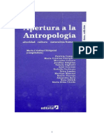 Apertura a La Antropologia-Maria Cristina Chiriguini ed 2006