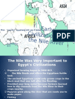 early civilizations of the nile river