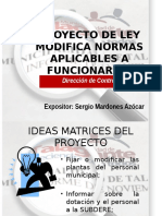 Presentación Modifica Normas Aplicables a Funcionarios Municipales Con Monitos