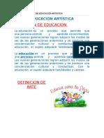 Blog Informativo de Educacion Artistica