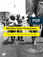 Blacktino Queer Performance edited by E.  Patrick Johnson and Ramón  H. Rivera-Servera