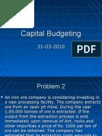 Capital Budgeting 30032010