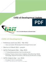 Cvss v3 Bangkok Update