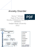 Anxiety Disorder FKG 2012