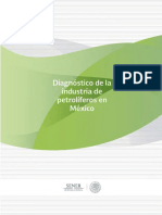Diagnóstico de la Industria de Petrolíferos en México