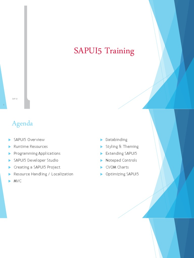 Sapui5 Training | Cascading Style Sheets | J Query