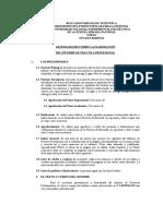 Pautas Para La Elaboración Del Informe de Pracicas Profesionales