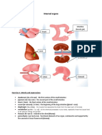 Internal Organs 1