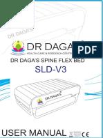 Spine Flex v3 Plus Massage Bed User Manual