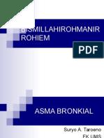Asma Bronkial 2009