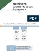 IPPFInternational Professional Practices Framework