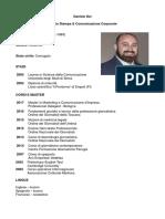 CV DANIELE DEI - Ufficio stampa e comunicazione corporate