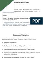 Agitation and Mixing (My Presentation)