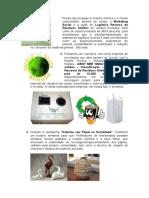 Logística Reversa de Resíduos Sólidos de Nossos Produtos