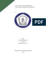 Cover Laporan Praktikum Kimia Medisinal