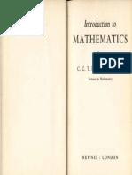 Baker IntroductionToMathematics