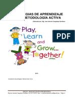 estrategias de aprendizaje de la metodologaactiva