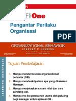 Petemuan 1 Pengantar Perilaku Organisasi