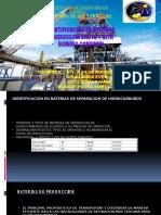 Identificacion en Baterias de Separacion de Hidrocarburos