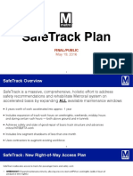 Final Metro SafeTrack Plan