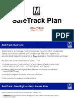 Final Metro SafeTrack Plan