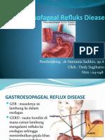 Gastroesofageal Refluks Diease.(Dedy Sugiharto