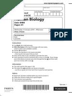 4HB0_01_que_20160113 Human Biology