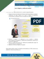 Evidencia 4 Registro y Codificacion de Datos